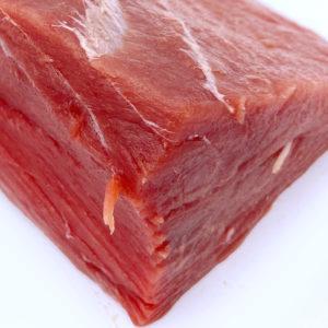 Carne tierna y magra del atún