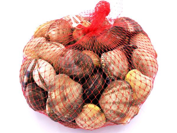 Malla de 2 kg de almejas