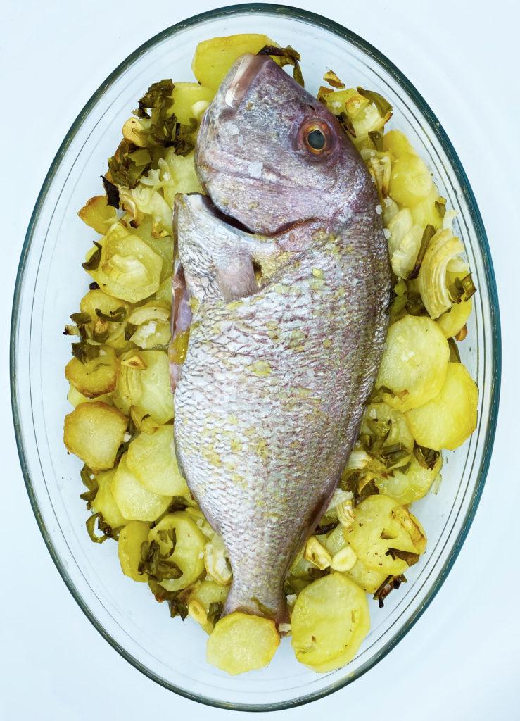 Compra en www.mariscoencasa.com pescado salvaje de roca a domicilio, como este pargo.